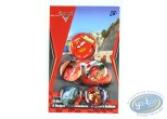 Pin's, Cars 2 : 5 badges Cars, Disney
