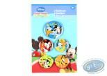 Pin's, Mickey Mouse : 5 badges de Mickey et ses amis, Disney