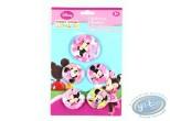 Pin's, Mickey Mouse : 5 badges de Minnie, Disney