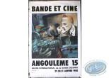 Affiche Offset, Bilal : Bilal, Bande et Ciné Angoulême 15