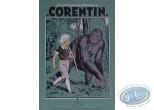 Affiche Sérigraphie, Corentin : Corentin et le gorille