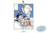 Affiche Sérigraphie, Little Nemo : La luge