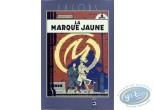 Affiche Sérigraphie, Blake et Mortimer : Marque Jaune (tour gris petite)