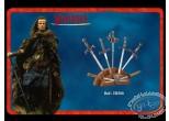 Figurine métal, Highlander : Présentoir pour mini épées argentées