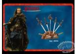 Réplique cinéma, Highlander : Présentoir pour mini épées bronze