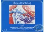 Etiquette de Vin, Maîtres Cartographes (Les) : Femme - Chateau Canteloup 1993