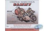Etiquette de Vin, Sammy : Sammy - Chateau Marechaux 1995