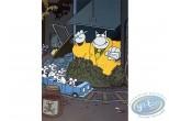 Affiche Offset, Chat (Le) : Petit train
