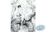 Affiche Offset, Garous : Dans les arbres