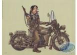 Affiche Offset, Sillage : Harley-Davidson