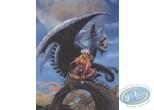 Affiche Offset, Conquerants de Troy (Les) : Exil à Port-Fleuri (fond bleu exclu)