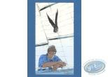Ex-libris Sérigraphie, Largo Winch : Largo et l'oiseau