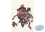 Ex-libris Offset, Spirou et Fantasio : the Zorkons