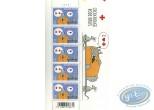 Timbre, Chat (Le) : Planche de 5 timbres, Le Chat