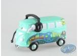 Figurine plastique, Cars 2 : Fillmore avec casque