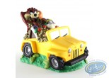 Tirelire, Looney Tunes (Les) : Tirelire Bugs Bunny et Taz en jeep jaune