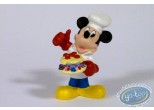 Statuette résine, Mickey Mouse : Cook (small), Disney