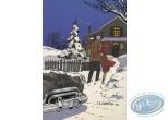 Carte postale, Fox : Christmas and new Year holidays