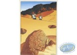 Carte postale, Cercle des sentinelles (Le) : Le lion ailé - Le cercle des sentinelles / invitation vernissage