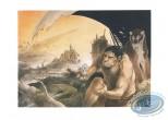 Affiche Sérigraphie, Atomium : Frank Le futur du passé