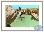 Affiche Sérigraphie, 7 Vies de l'Epervier (Les) : Les 7 vies de l'Epervier : Les cavaliers