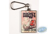 Porte-clé métal, Mickey Mouse : Mickey Mouse The Mad Dog, Disney