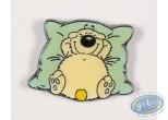 Pin's, Cubitus : Cubitus sur son oreiller bleu