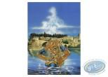 Ex-libris Offset, Atalante : Bain devant Avignon