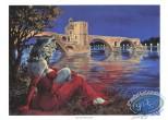 Ex-libris Offset, Halloween Blues : Le pont d'Avignon