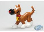 Figurine plastique, Lucky Luke : Rantanplan avancant