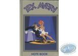 Carnet de notes, Félix le Chat : Note Book, Tex Avery : Le Loup et La Girl (vert olive)