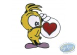 Pin's, Piaf (Le) : Le Piaf est amoureux