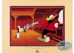 Affiche Offset, Droopy : Droopy menace le Loup