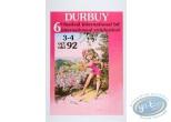 Affiche Offset, Olivier Rameau : Affiche publicitaire '6ème Festival International BD de Durbuy 1992' par Dany Numéroté et signé !