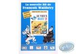 Affiche Offset, Advertising poster 'La Nouvelle BD de Walthéry et Cauvin' of Walthéry