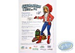 Affiche Offset, Affiche publicitaire 'Chaudfontaine La Bédé en fête' par Walthéry