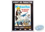 Affiche Offset, Affiche publicitaire en wallon 'Natacha Ine Wadjeûre di sôlêye' par Walthéry