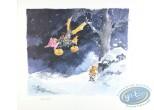 Affiche Offset, Isabelle : La machine volante
