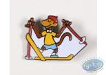 Pin's, Babar : Babar aux sports d'hiver, Zéphyr en ski