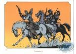 Ex-libris Sérigraphie, Piste des Ombres (La) : Chevauchée