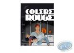 Affiche Sérigraphie, Largo Winch : Colere Rouge