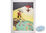 Affiche Offset, Lucky Luke : Poker (grand)