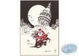 Ex-libris Offset, Noël : Père Noël à Boulogne