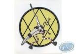 Ex-libris Offset, Pest : Sticker autocollant