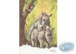 Ex-libris Offset, Pyrénée : Rhinos