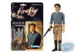 Action Figure, Firefly : Malcom Reynolds (Chemise bleue) - Funko