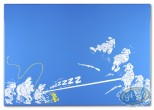 Plaque émaillée, Spirou et Fantasio : Le Prisonnier du Bouddha