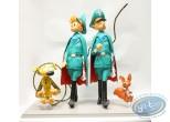 Statuette résine, Spirou et Fantasio : Le Dictateur et le Champignon