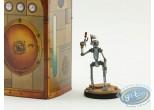 Figurine métal, Nef des Fous (La) : Robot - Cavalier Noir