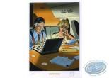 Ex-libris Offset, Lady S : Travail